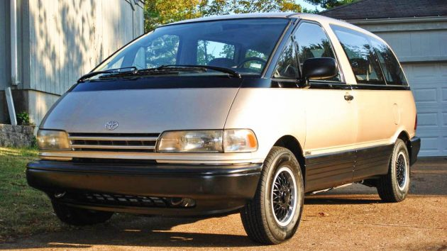 To The Moon: 1992 Toyota Previa AWD 5-spd