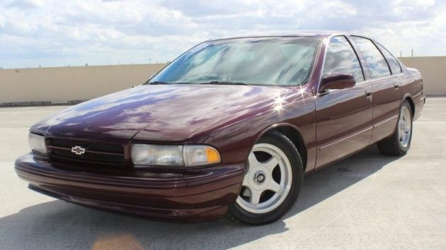90s Muscle 1996 Chevrolet Impala Ss