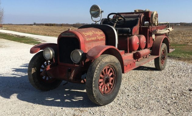 Out Of Fire: 1923 American LaFrance Type 32