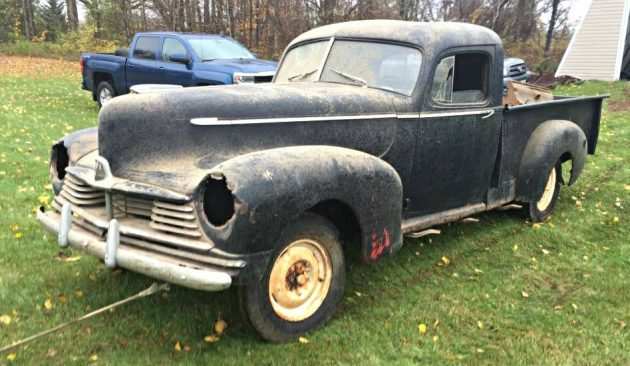 Not A Hornet Or A Wasp: 1945 Hudson Pickup