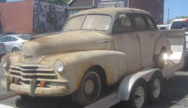 1947 Chevy Stylemaster Sedan
