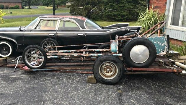 Vintage Rail: 1950's Dragster Project