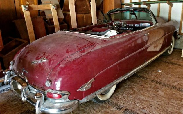 Ran When Parked: 1953 Hudson Hornet Convertible