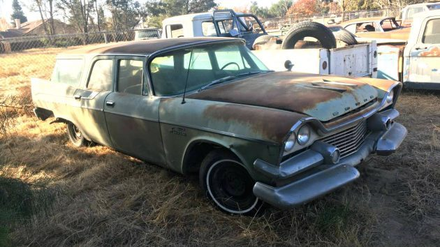 Stylish 9 Seater: 1958 Dodge Sierra Wagon