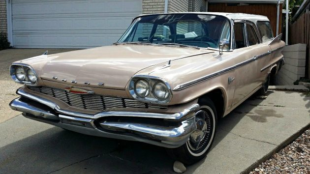 Exner Designed Wagon: 1960 Dodge Matador