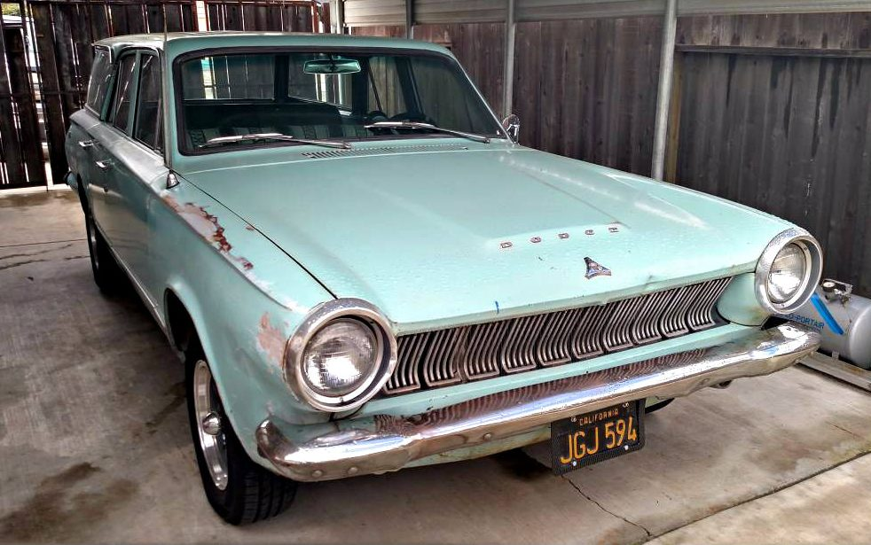 2017 Dodge Dart >> 1963 Dodge Dart Muscle Wagon