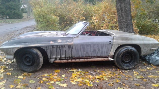 Big Block 4 Speed: 1966 Corvette Convertible