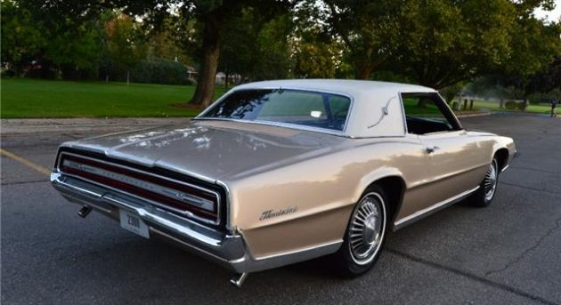 This Old Bird Does Look Really Nice Especially If You Like Your Cars In Gold Or Beige Mist Metallic The Ding Taillight Trim Is Only Obvious