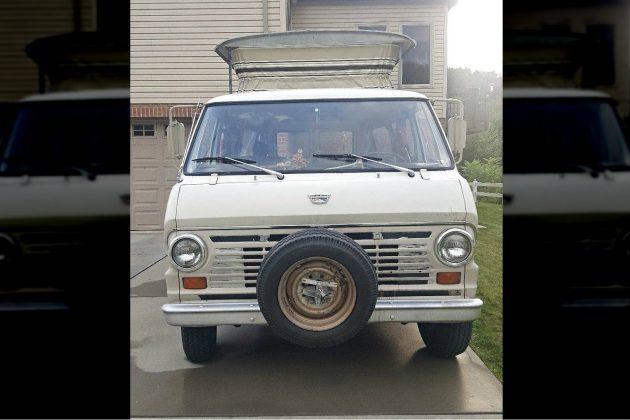 Blank Camping Slate: 1969 Ford E-Series Camper