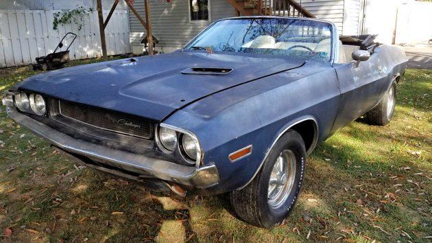 Deep Purple: 1970 Dodge Challenger Convertible