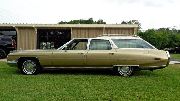 Special Survivor: 1971 Cadillac Fleetwood