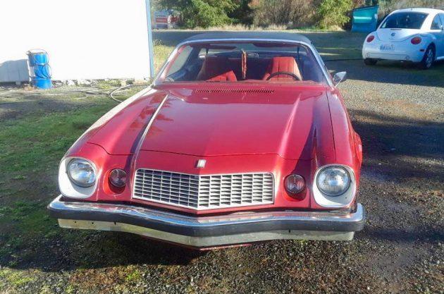 Sunday Driver: 1976 Chevrolet Camaro
