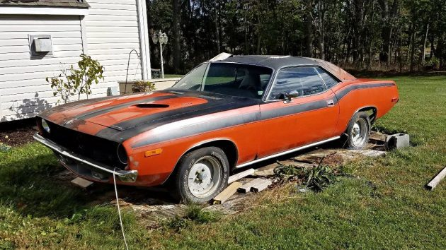 Fish Out Of Water: 1972 Plymouth 'Cuda