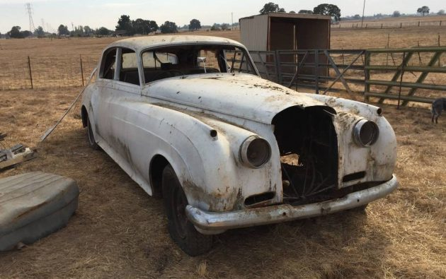 Carriage Trade: Engineless 1961 Bentley S2
