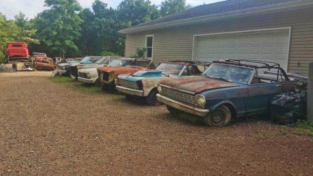 Fall Harvest of Chevy II Novas