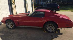 1976 Corvette Coupe (craigslist)