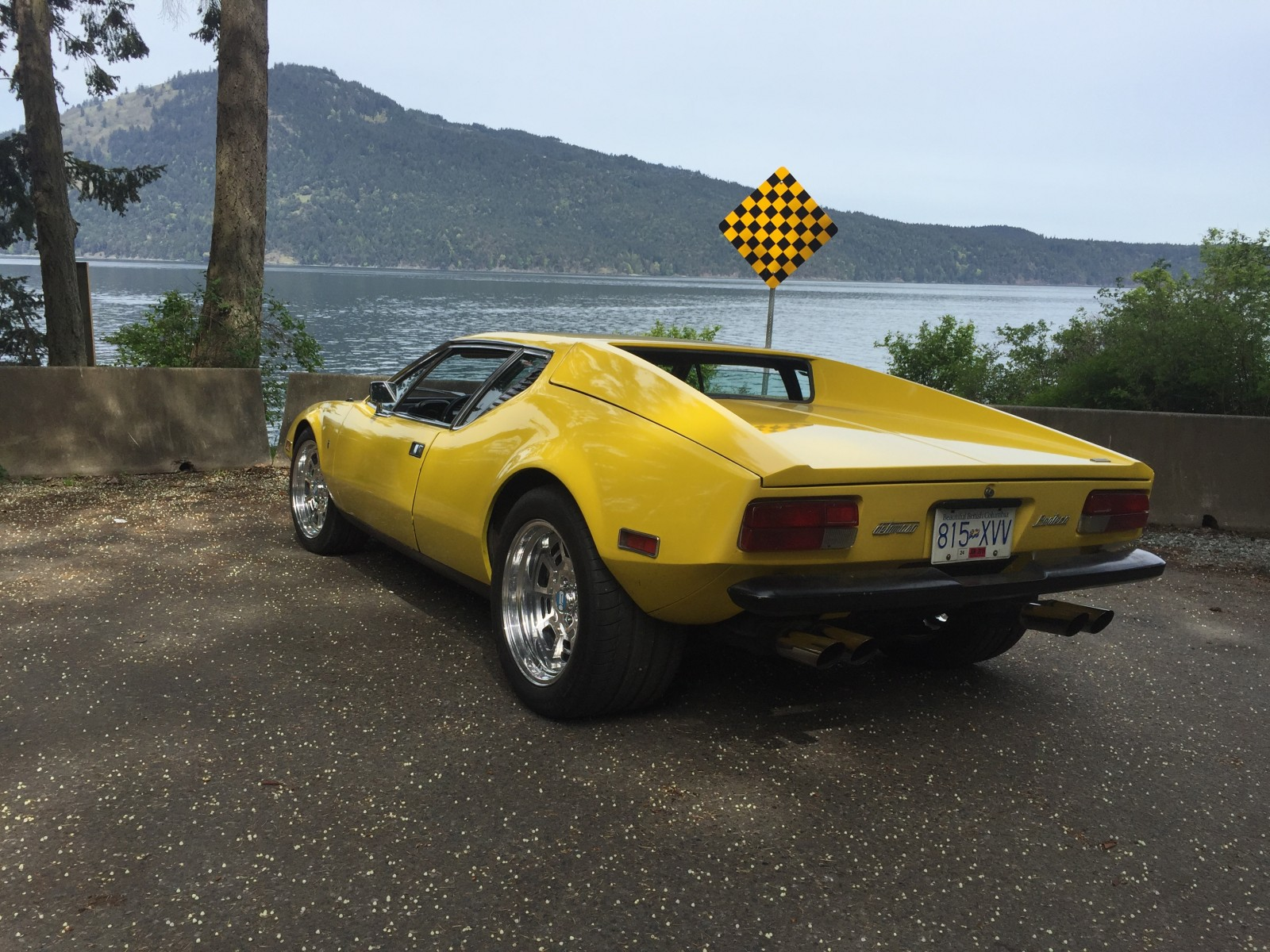 Warehouse Find 1972 DeTomaso Pantera Project