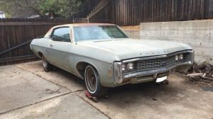 1969 Chevrolet Impala Custom Coupe (eBay)