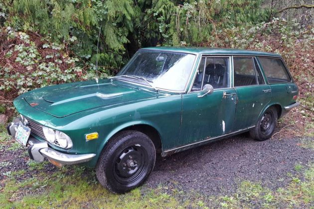 Hen's Teeth: 1972 Mazda 1800 Wagon