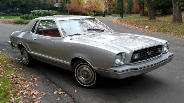 Museum Piece: 1977 Ford Mustang II Ghia