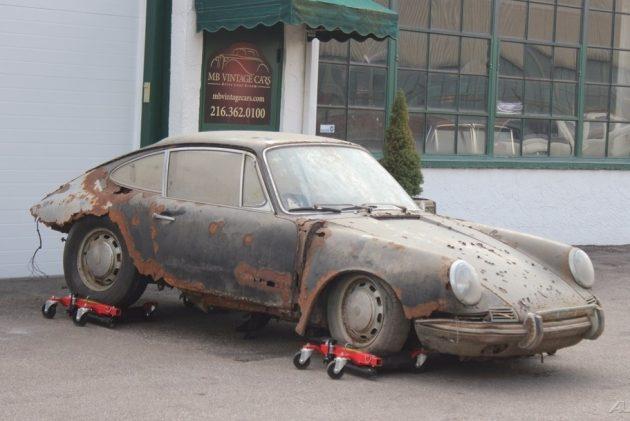 Found Under The Barn 1967 Porsche 912