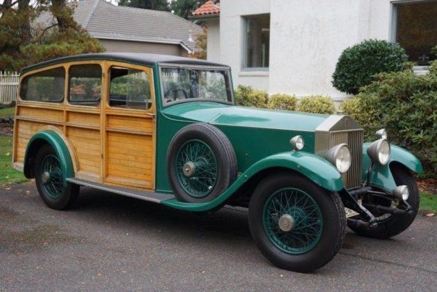 The Classiest Wagon? 1927 Rolls-Royce Phantom