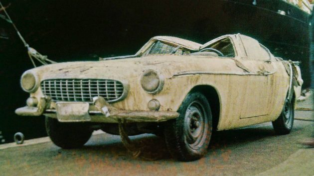Where Are They Now: The Volvo P1800 Whisky Cars