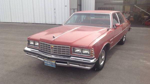 Big Red Bonneville: 1977 Pontiac Bonneville Survivor
