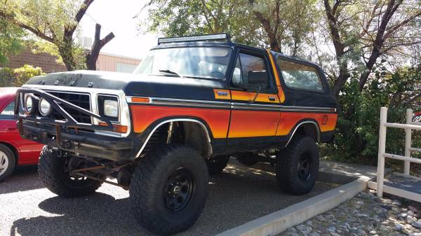 Freewheeling: 1979 Ford Bronco