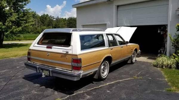 Extra Seating: 1989 Buick Electra Estate Wagon