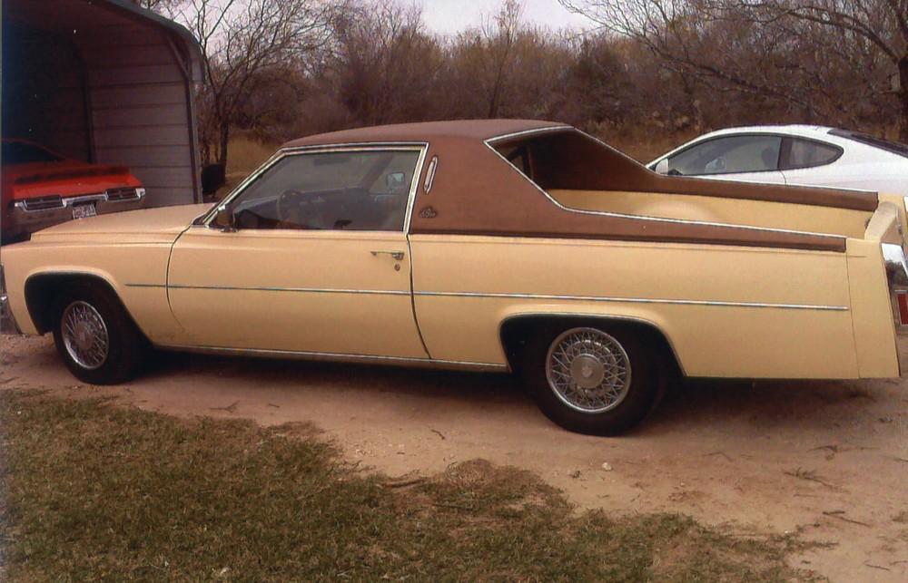 Roadside Sighting 1978 Cadillac Wagon