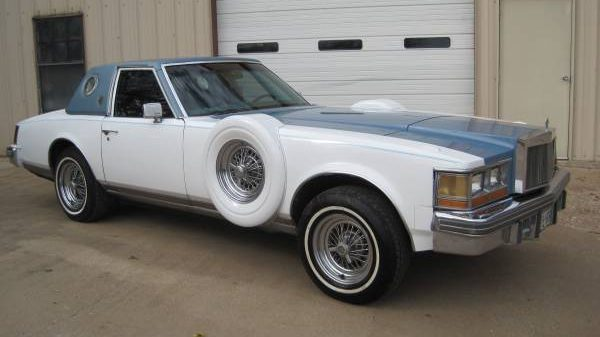 With Grandeur 1979 Cadillac Seville Opera Coupe