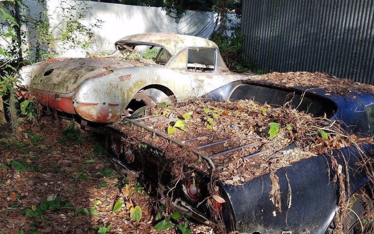 Behind The Barn Find 1959 Chevrolet Corvette