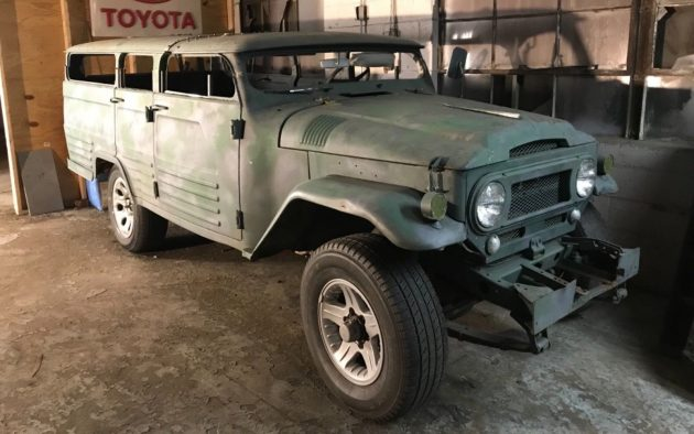 Cramped Cruiser: Chopped 1964 Toyota Land Cruiser FJ45