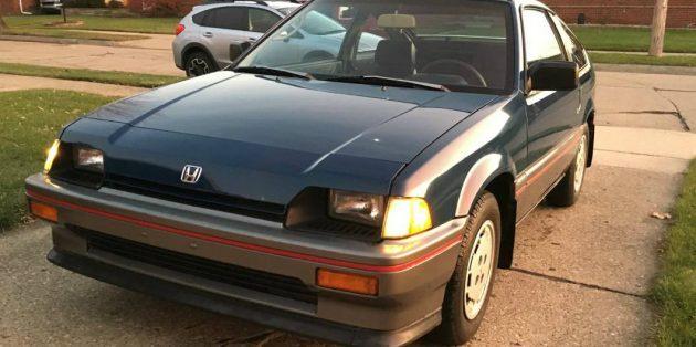 19K Miles From New: 1985 Honda CRX