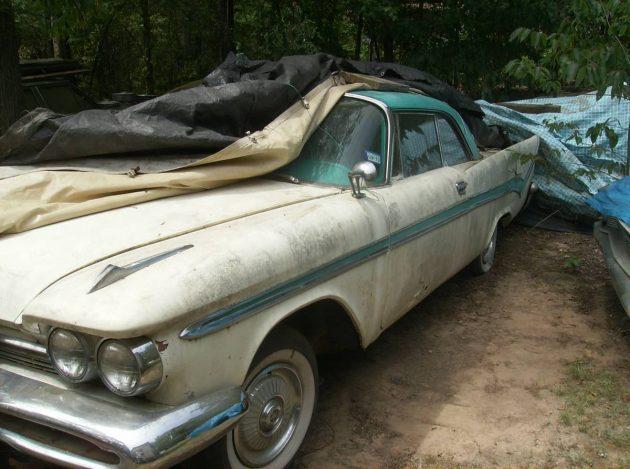 Name Game: 1959 Desoto + Parts Car
