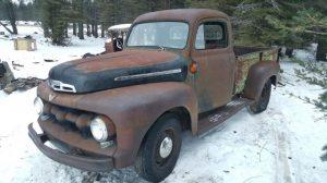 1951 Ford F3 (eBay)