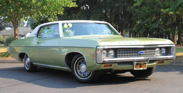 Easy Being Green: 1969 Chevrolet Impala Custom