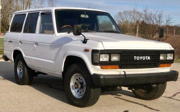 RHD HJ60: 1989 Toyota Land Cruiser