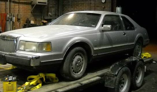 BMW Diesel Equipped: 1984 Lincoln Mark VII