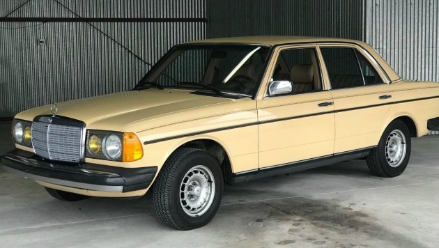 Blue Chip Car: Low Mileage 1983 Mercedes 300D