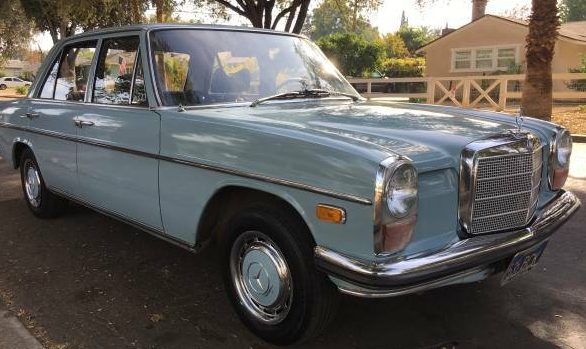 Nothing Changed Since New: 1970 Mercedes 220
