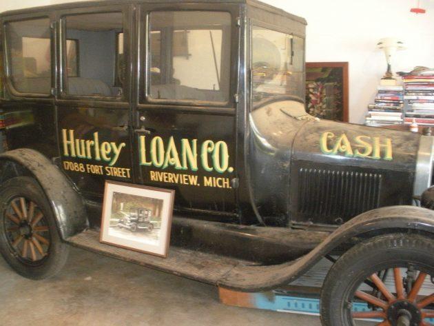 Improved Car: 1926 Ford Model T Sedan