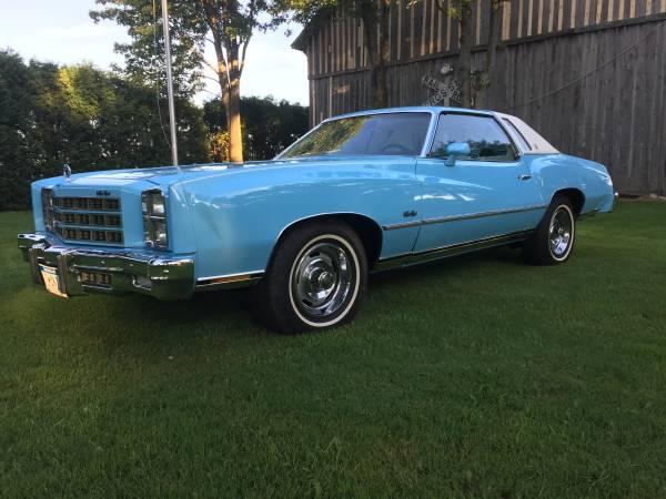 Minty Monte 1977 Chevrolet Monte Carlo Survivor