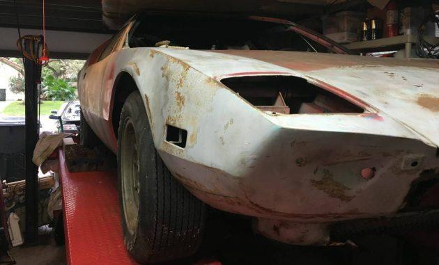 Warehouse Find: 1972 DeTomaso Pantera Project