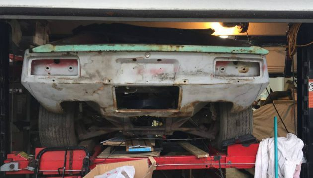 Warehouse Find: 1972 DeTomaso Pantera Project