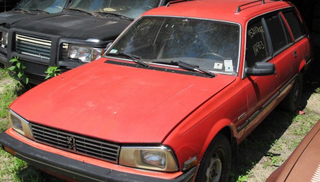 Bill Of Sale Example >> Turbo Wagon: 1987 Peugeot 505