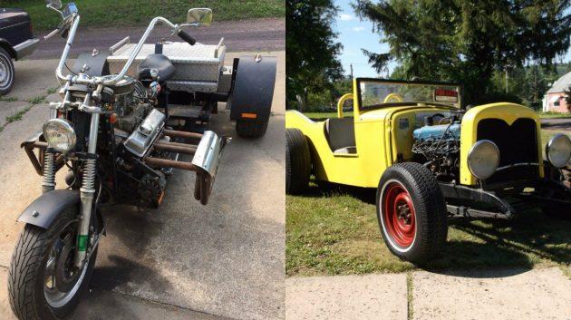 A Pair Of Oddities: V8 Trike & Model A Fury!