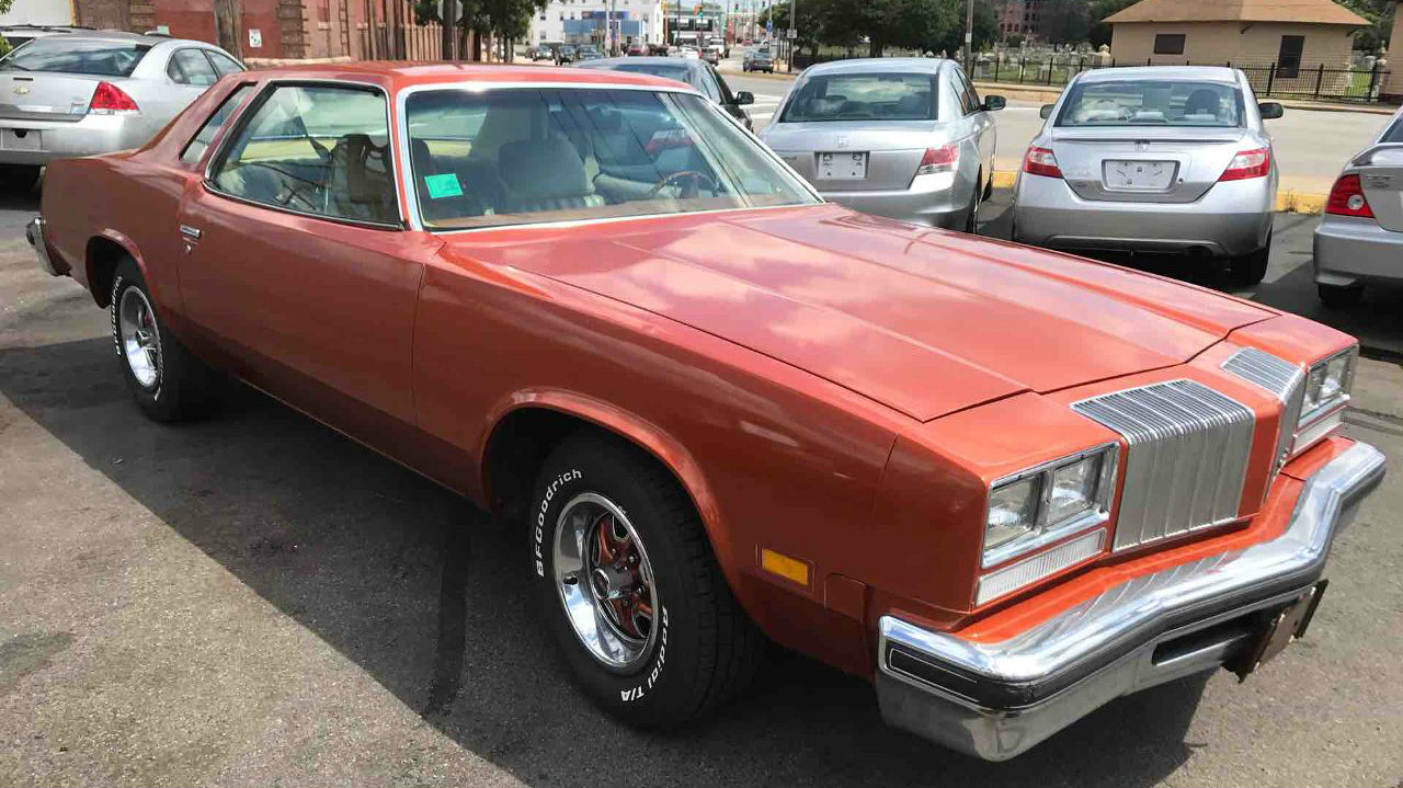 Used Car Lot Find 1977 Oldsmobile Cutlass Supreme
