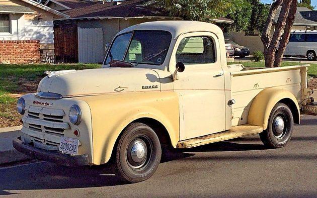 The Yellow Rose: 1949 Dodge B1-B-108